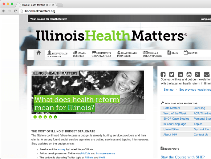 Illinois Health Matters Site
